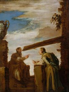 The Parable of the Mote and the Beam, c.1619 by Domenico Fetti or Feti