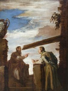 Parable of the Mot and the Beam by Domenico Fetti