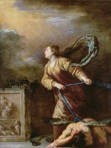 St. Margaret of Cortona Vanquishing the Devil by Domenico Fetti