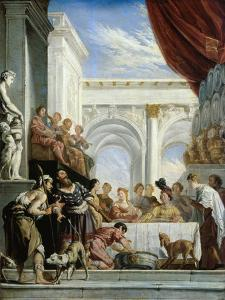 The Parable of Dives and Lazarus by Domenico Fetti