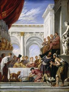 The Parable of Lazarus and the Rich Man, 1618-28 by Domenico Fetti