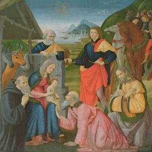 Adoration of the Magi by Domenico Ghirlandaio