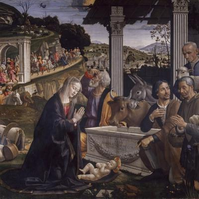 Adoration of the Shepherds by Domenico Ghirlandaio