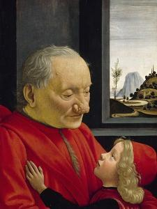 An Old Man and His Grandson, 1488 by Domenico Ghirlandaio