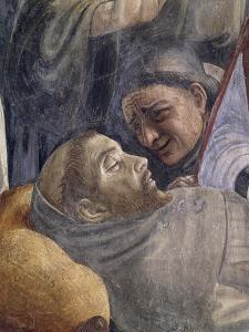 Death of St Francis, Detail from the Stories of St Francis of Assisi, 1483-1486 by Domenico Ghirlandaio