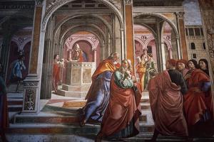 Domenico Ghirlandaio by Domenico Ghirlandaio