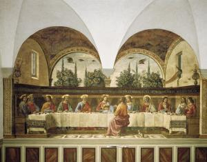 Last Supper by Domenico Ghirlandaio