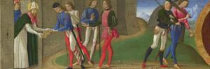 Legend of Saints Justus and Clement of Volterra, Ca 1479 by Domenico Ghirlandaio