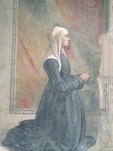 Portrait of a Female Member of the Sassetti Family by Domenico Ghirlandaio