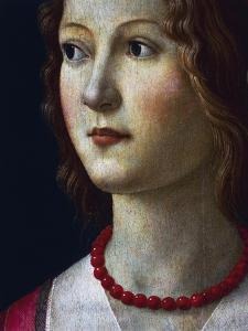 Portrait of a Young Girl, 1485 by Domenico Ghirlandaio