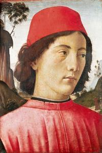 Portrait of a Young Man, 15th Century by Domenico Ghirlandaio