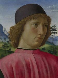 Portrait of a Young Man in Red, Ca 1485 by Domenico Ghirlandaio