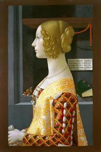 Portrait of Giovanna Tornabuoni, 1489-90 by Domenico Ghirlandaio
