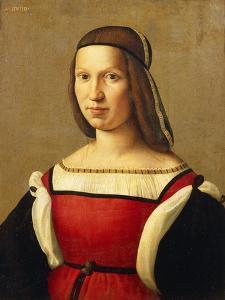 Portrait of Woman by Domenico Ghirlandaio