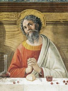 San Giacomo Maggiore, Detail from Last Supper, 1485 by Domenico Ghirlandaio