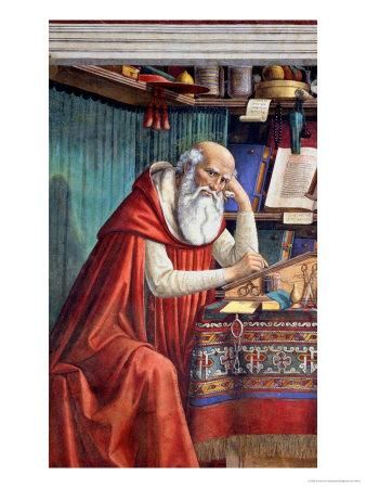 St. Jerome in His Study, 1480