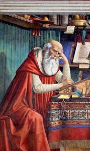 St. Jerome in His Study, 1480 by Domenico Ghirlandaio