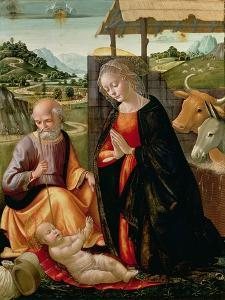 The Nativity (Post Cleaning) by Domenico Ghirlandaio