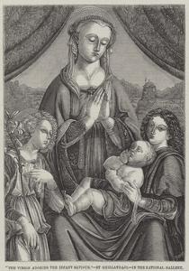 The Virgin Adoring the Infant Saviour by Domenico Ghirlandaio