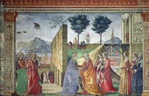 The Visitation by Domenico Ghirlandaio