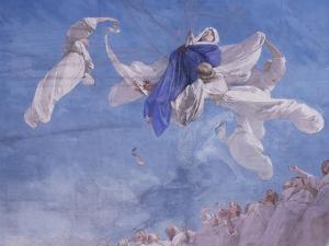 The Assumption, Fresco by Domenico Morelli