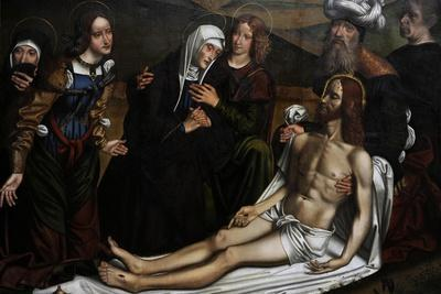 The Lamentation of Christ with a Donor, C.1505, by Domenico Panetti (1460-1530)