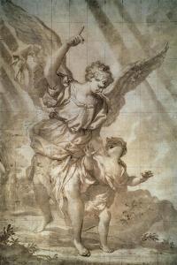 Guardian Angel by Domenico Piola