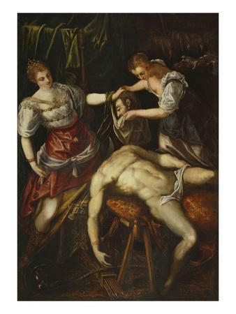 Judith and Holofernes, 1590