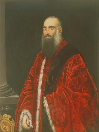 Portrait of a Contarini Procurator, Probably Giovanni Paolo Contarini (D.1604)