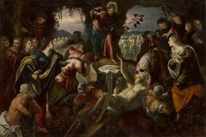 The Raising of Lazarus, 1585-1590 by Domenico Robusti Tintoretto