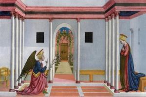 The Annunciation, C1445 by Domenico Veneziano