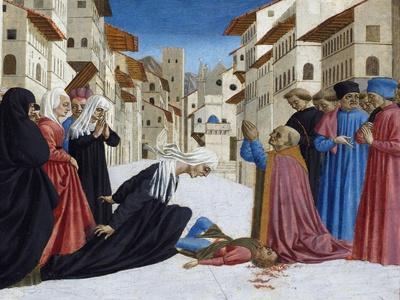 The Miracle of St. Zenobius, 1442-48