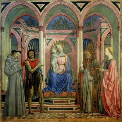 The Santa Lucia De' Magnoli Altarpiece, Ca 1447