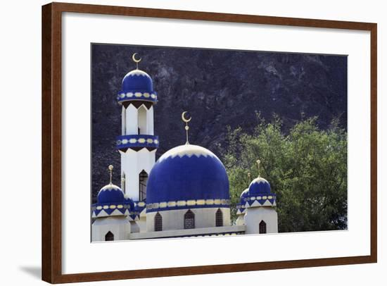 Domes of Mosque of Kalbooh Near Muscat, Oman--Framed Photographic Print