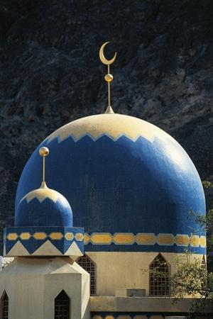 Domes of Mosque of Kalbooh Near Muscat, Oman