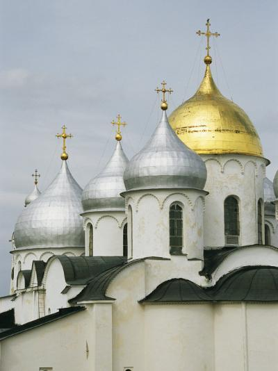 Domes of the Cathedral of St. Sophia-Martin Gray-Photographic Print