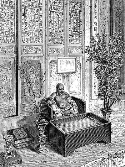 Domestic Altar, the Smiling Buddha, C1890--Giclee Print