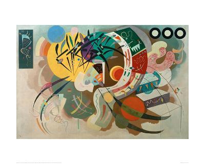 Dominant Curve, 1936-Wassily Kandinsky-Giclee Print