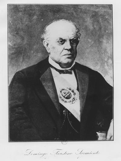 Domingo Faustino Sarmiento--Giclee Print