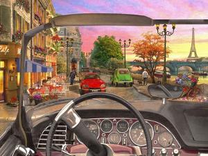 Paris in a Car (Variant 1) by Dominic Davison