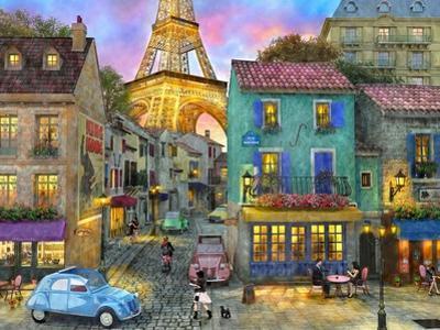 Paris Streets by Dominic Davison