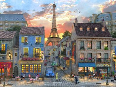 Streets of Paris by Dominic Davison