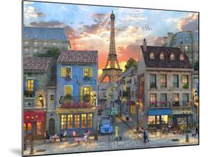 Streets of Paris by Dominic Davison