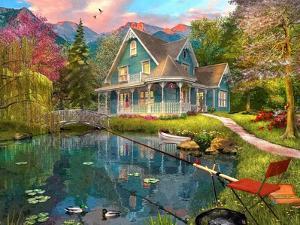 The Fishing Retreat by Dominic Davison
