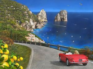 View of Capri by Dominic Davison