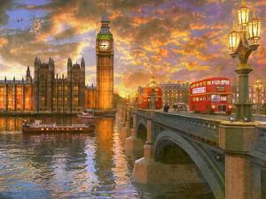 Westminster Sunset by Dominic Davison