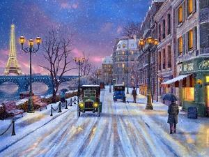 Wintertime in Paris by Dominic Davison