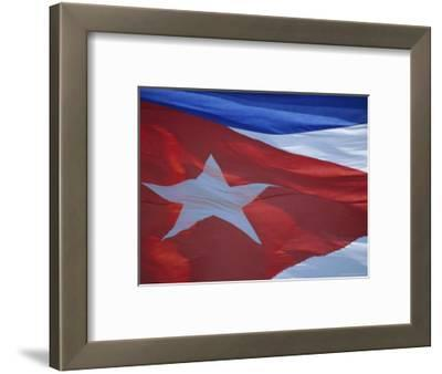 National Flag, Cuba, West Indies, Central America