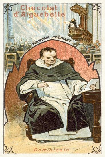 Dominican Friar--Giclee Print