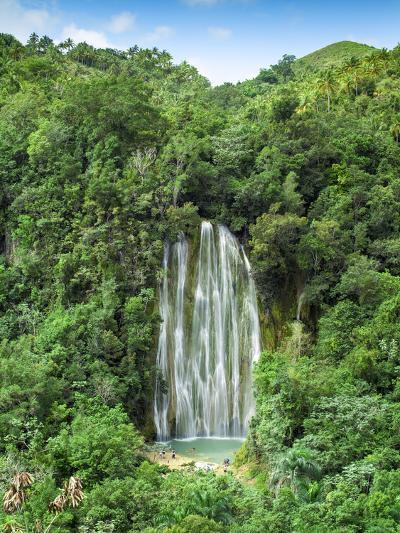Dominican Republic, Eastern Peninsula De Samana, El Limon Waterfall-Jane Sweeney-Photographic Print
